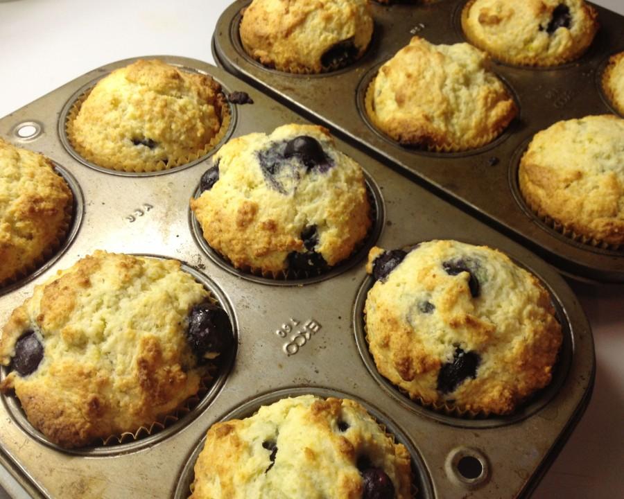 Ricotta Blueberry Muffins
