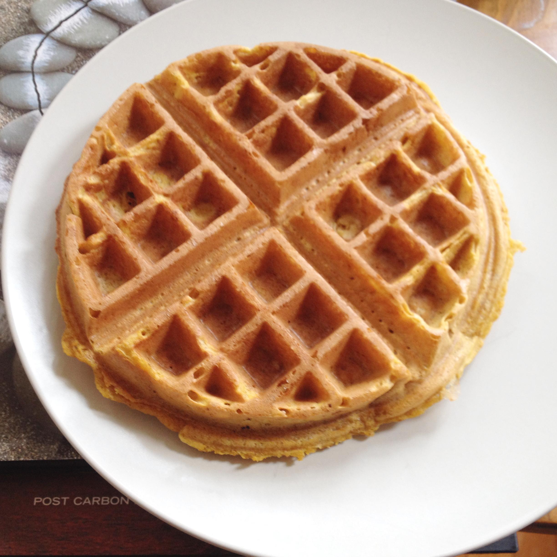 Smitten Kitchen Waffles: Pumpkin Waffles