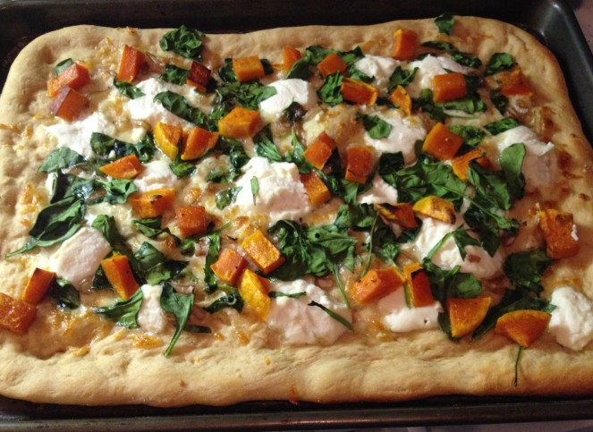 winter squash pizza