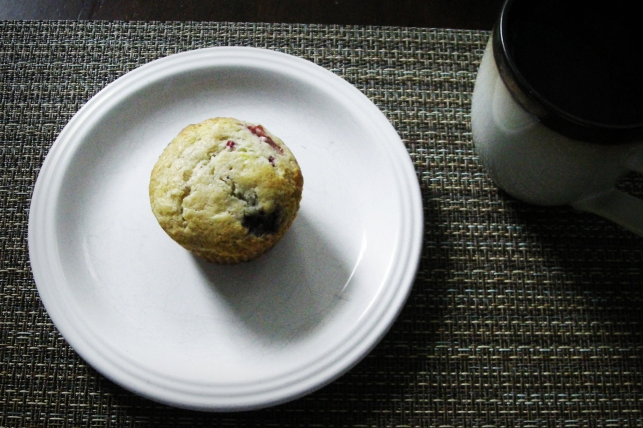 Berry Muffin Breakfast