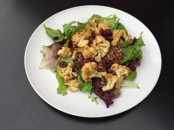 Curried Cauliflower Salad (2 of 2)